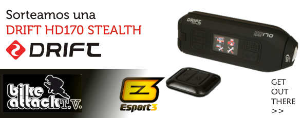 Regalamos una DRIFT HD170 Stealth en Bikeattack TV