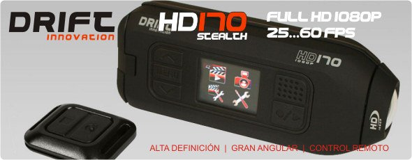 Disponible la nueva DRIFT HD170 STEALTH