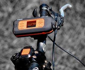DRIFT HD170 en bici con mando