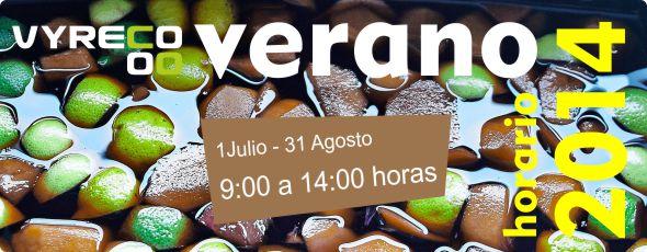 Horario especial Verano 2014