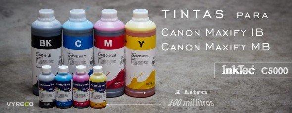 Nuevas tintas Inktec para Canon Maxify