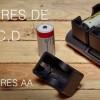 Nuevos adaptadores para cargar baterías C, D en cargadores estándar