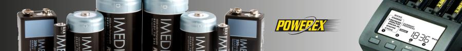 Pilas y cargadores Powerex