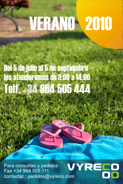 horario verano 2010