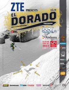 Poster oficial Eldorado Freeride 2012